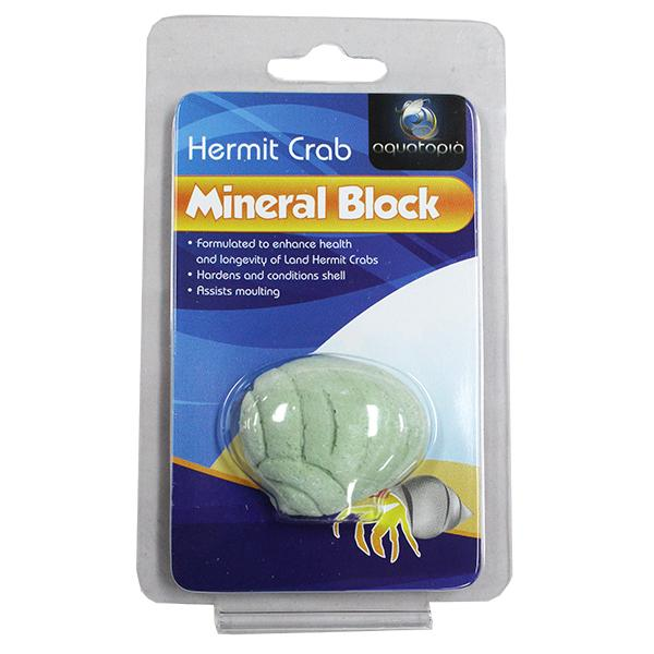 HERMIT CRAB MINERAL BLOCK - Click to enlarge
