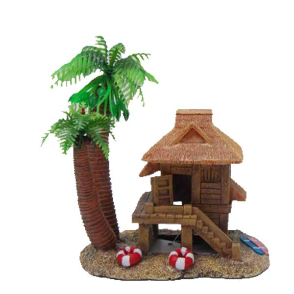 HERMIT CRAB HOUSE ON STILTS - Click to enlarge
