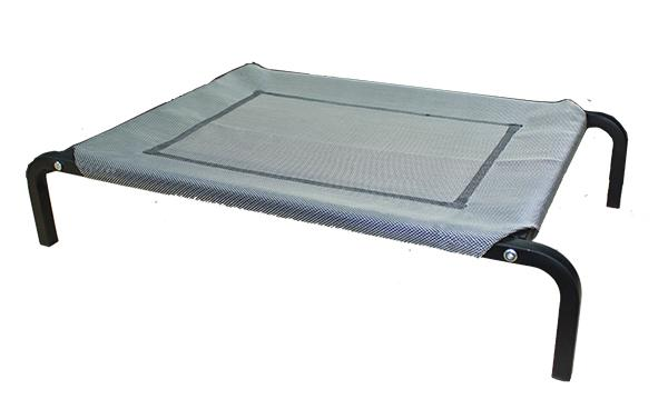 ELEVATED BED GREY 75X47CM - Click to enlarge