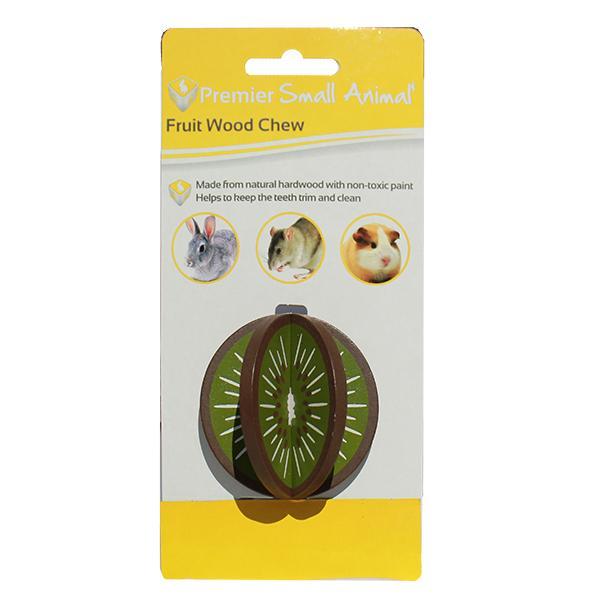 WOOD CHEW 6CM KIWI - Click to enlarge