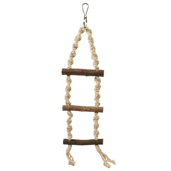 NATWOOD ROPE LADDER 3 RUNGS 40CM - Click to enlarge