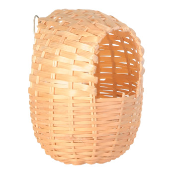 EXOTIC BAMBOO BIRD NEST 12X11CM - Click to enlarge