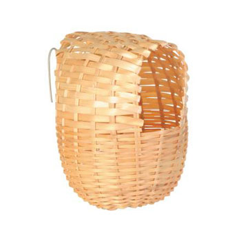 EXOTIC BAMBOO BIRD NEST 15X12CM - Click to enlarge