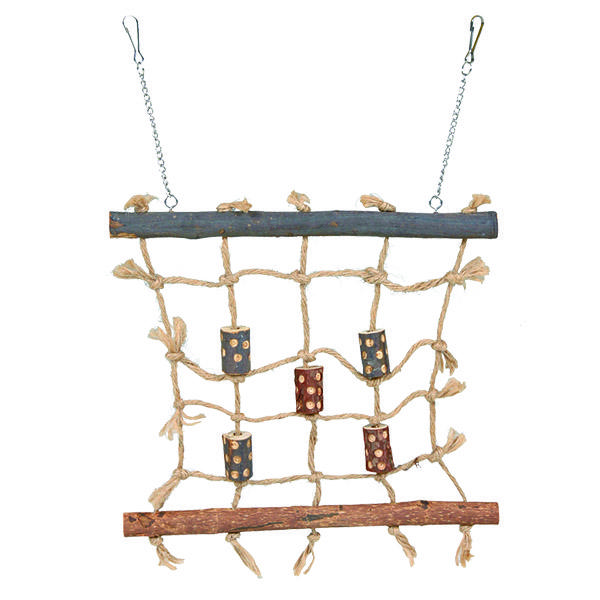 NATWOOD ROPE CLIMBING WALL 27X24CM - Click to enlarge