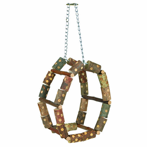 NATWOOD CLIMBING FRAME 11X17X11CM - Click to enlarge