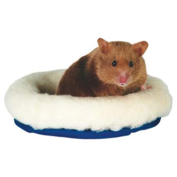 CUSHY BED FOR SMALL RODENTS 16X13CM - Click to enlarge