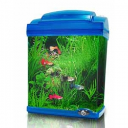 AT MINI ACRYLIC OCEANUS TANK BLUE 4.5L - Click for more info