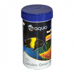 SPIRULINA GREEN FLAKE 55G - Click for more info