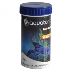 FRESHWATER CRAYFISH PELLETS 130G - Click for more info