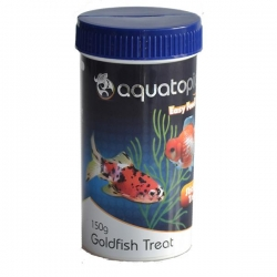 GOLDFISH TREAT 150G - Click for more info