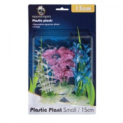 PEARL PLASTIC PLANTS 3 PACK 15CM - Click for more info