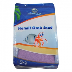 HERMIT CRAB SAND PURPLE 1.5KG - Click for more info