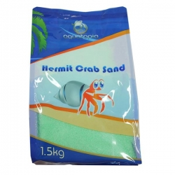 HERMIT CRAB SAND GREEN 1.5KG - Click for more info