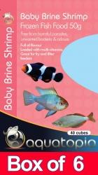 FROZEN BABY BRINE SHRIMP 50G BOX OF 6PKS - Click for more info