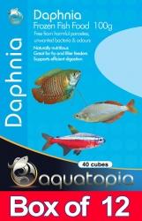 FROZEN DAPHNIA 100G BOX OF 12PKS - Click for more info