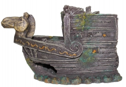 BOAT WITH HORSE HEAD FRONT M - Click for more info