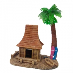 HERMIT CRAB HOUSE WITH PALM TREE - Click for more info