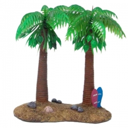 HERMIT CRAB DOUBLE PALM TREE - Click for more info