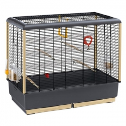 CAGE PIANO 5  BLACK 71X38X63CM - Click for more info