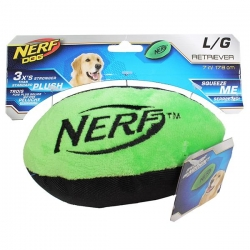 RETRIEVER PLUSH F/BALL LGE GREEN 17.8CM - Click for more info