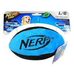 RETRIEVER PLUSH F/BALL LGE BLUE 17.8CM - Click for more info