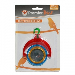 BIRD TOY  SPINNING MIRROR - Click for more info