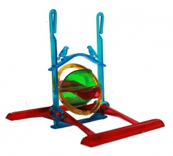 BIRD TOY DOUBLE SWING, CROSS WINDER - Click for more info
