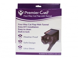 CAT FLAP 4 WAY LOCK 24X24CM - Click for more info