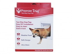 DOG FLAP 2 WAY 29X25CM - Click for more info