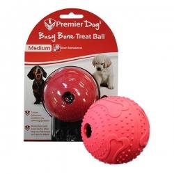 BUSY BONE MAZE TREAT BALL MEDIUM RED - Click for more info