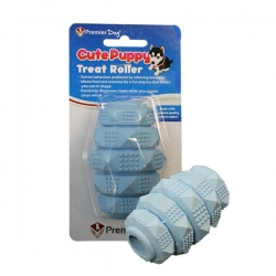 CUTE PUPPY TREAT ROLLER (BLUE/WHITE) - Click for more info