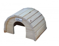 ROUND TIMBER HOME MED 16X15X8CM - Click for more info