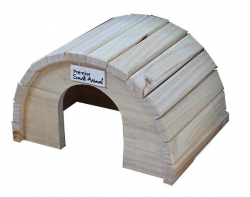 ROUND TIMBER HOME LGE 24X17X16CM - Click for more info