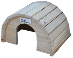 ROUND TIMBER HOME XL 32X20X16CM - Click for more info
