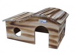 NATURAL CURVED ROOF HOME LGE 42X27X22CM - Click for more info
