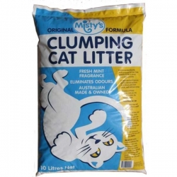 MISTYS CLUMPING LITTER 10L - Click for more info