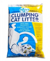 MISTYS CLUMPING LITTER 20L - Click for more info