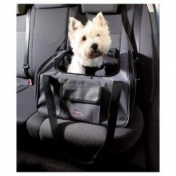 CAR SEAT 44X30X38 CM GREY/BLACK - Click for more info