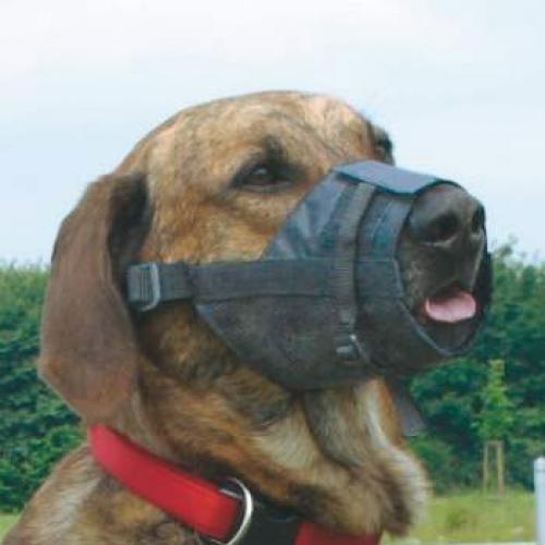 MUZZLE W NET INSERT ADJUSTABLE SIZE 1 - Click for more info