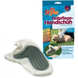 GROOMING GLOVE FOR DOGS AND CATS - Click for more info