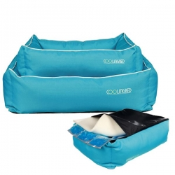 COOL DREAMER COOLING BED 65X50CM BLUE - Click for more info