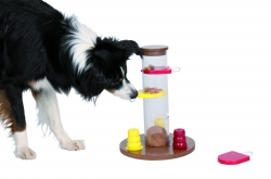 DOG ACTIVITY GAMBLE TOWER 25X33X25CM - Click for more info