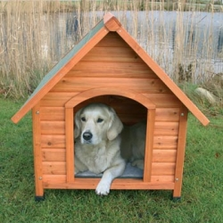 NATURA PITCH ROOF KENNEL SML 76X76X70CM - Click for more info