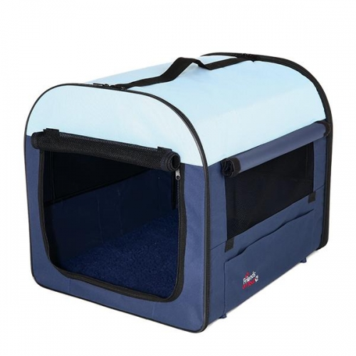 SOFT CRATE 50X50X60CM DK BLUE/LT BLUE - Click for more info