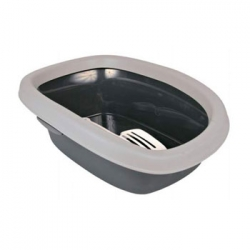 CARLO LITTER TRAY 131X14X43CM GRY/LGRY - Click for more info