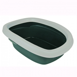CARLO LITTER TRAY 238X17X58CM GRY/LGRY - Click for more info