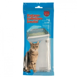 10 BAGS FOR CAT TOILETS 48X37CM - Click for more info