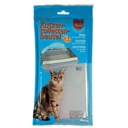 10 BAGS FOR CAT TOILETS  59X46CM - Click for more info