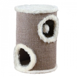 EDOARDO CAT TOWER 50CM BROWN/BEIGE - Click for more info