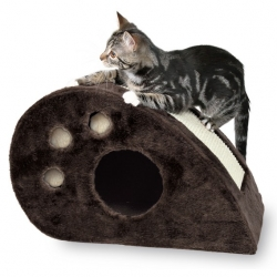 TOPI SCRATCHING MOUSE 33CM BROWN - Click for more info